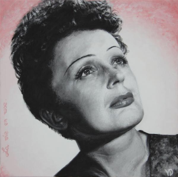 Edith Piaf by gristricote